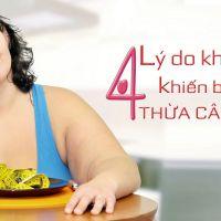 Tiết lộ 4 lý do không ngờ khiến bạn dễ thừa cân béo phì