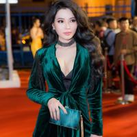 Hoa hậu Cao Thị Thùy Dung đeo đồng hồ tiền tỷ đi xem thời trang