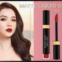 Tình nồng nàn như thỏi Matte Liquid Sexy Lips Make Love