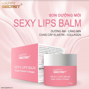 Mỹ phẩm Top White chuẩn bị ra mắt son dưỡng môi Sexy Lips Balm