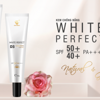 Siêu phẩm White Perfect D3 phiên bản nâng cấp với khả năng chống nắng lên đến 9h đồng hồ