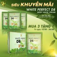 Mỹ phẩm Top White khuyến mãi nhân dịp ra mắt kem ủ trắng trà xanh D8