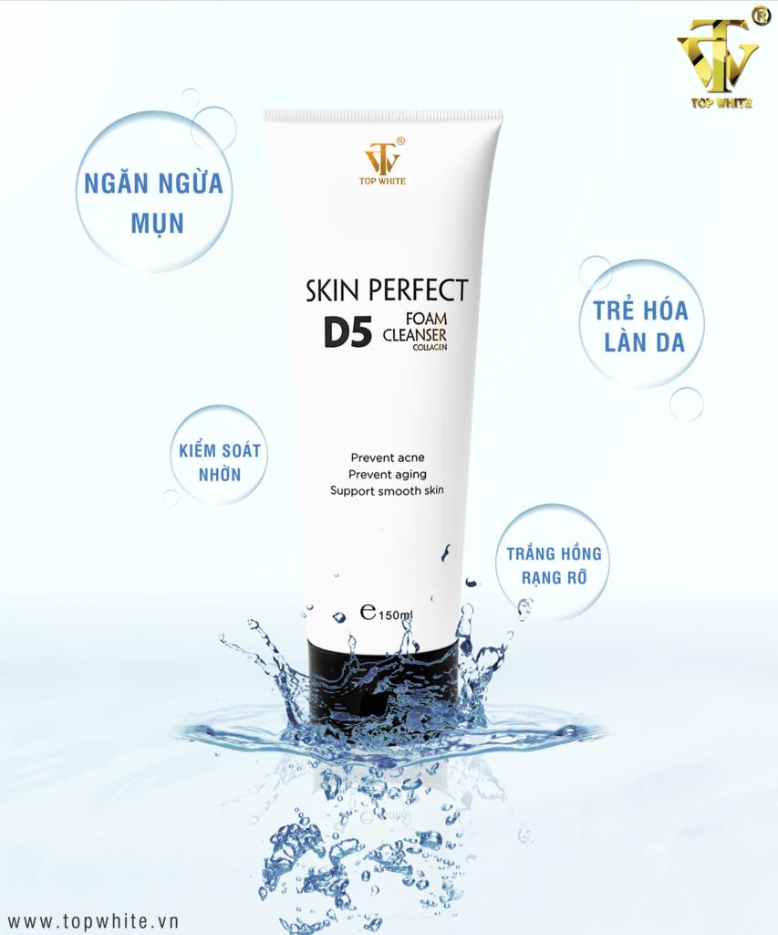 Sữa rửa mặt White Perfect D5