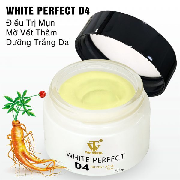 top white kem tri mun white perfect d4