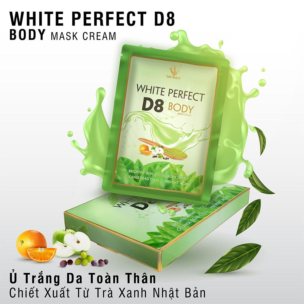 Kem ủ trắng da toàn thân White Perfect D8