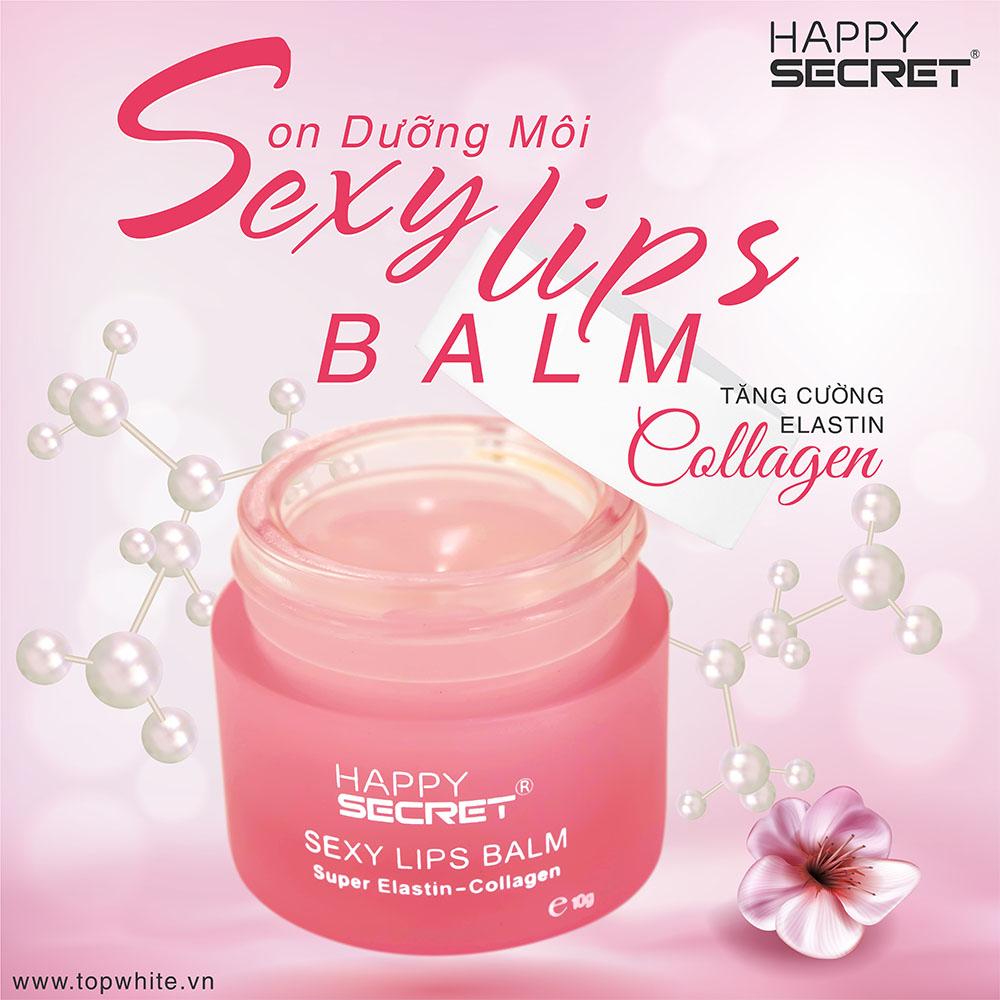 Son dưỡng môi Top White Sexy Lips Balm