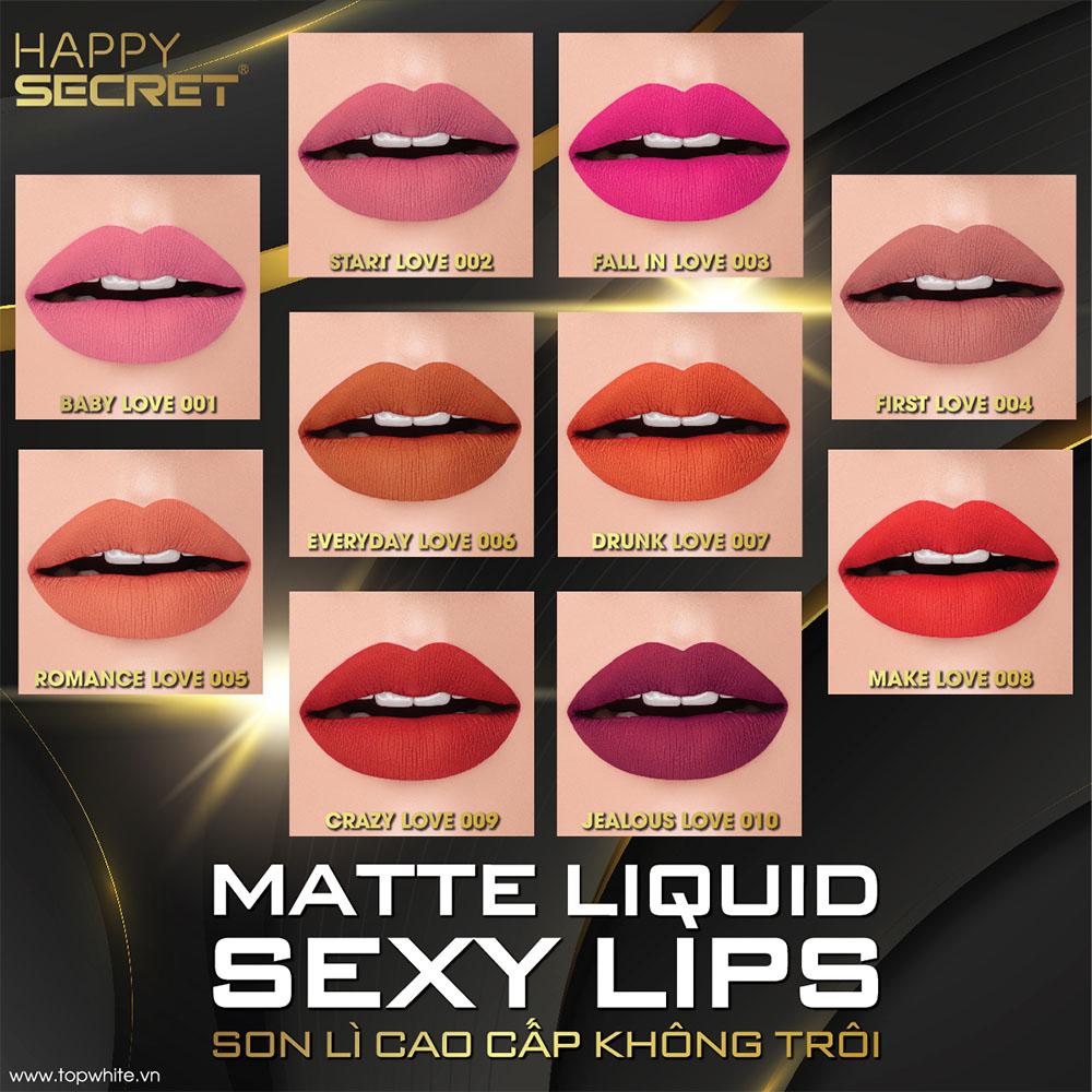 Son lì không trôi Matte Liquid Sexy Lips
