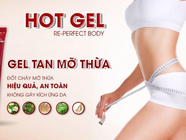 Hot Gel tan mỡ re-perfect body