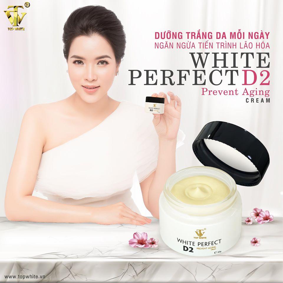 Kem dưỡng da ban đêm White Perfect D2
