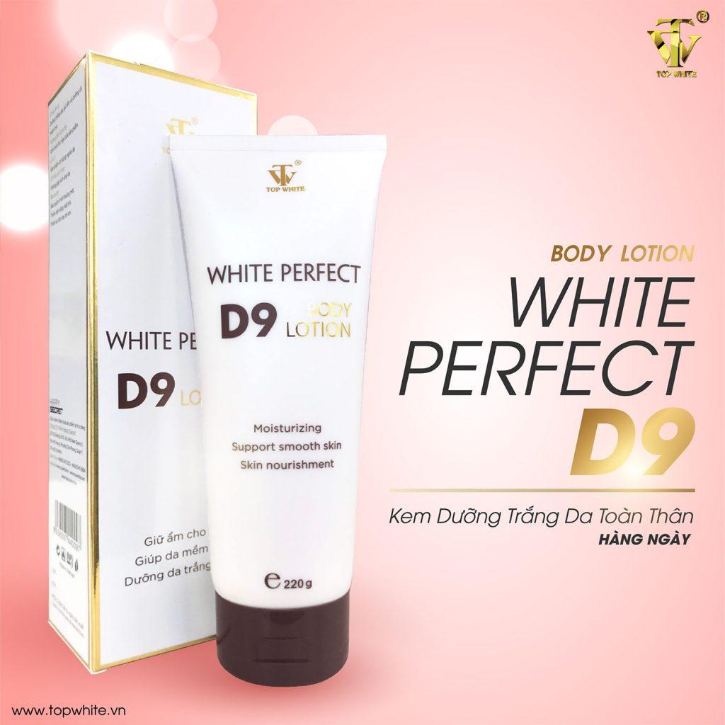 Mã vạch 8936097440097 - Kem dưỡng trắng da toàn thân White Perfect Body D9