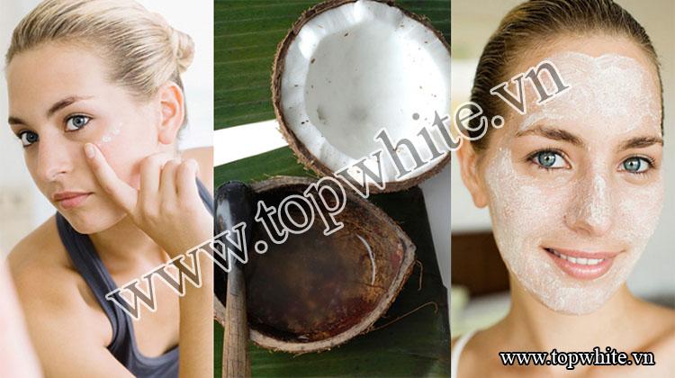 Hãy để Top White chia sẻ với các nàng một số phương pháp làm đẹp với dầu dừa nhé