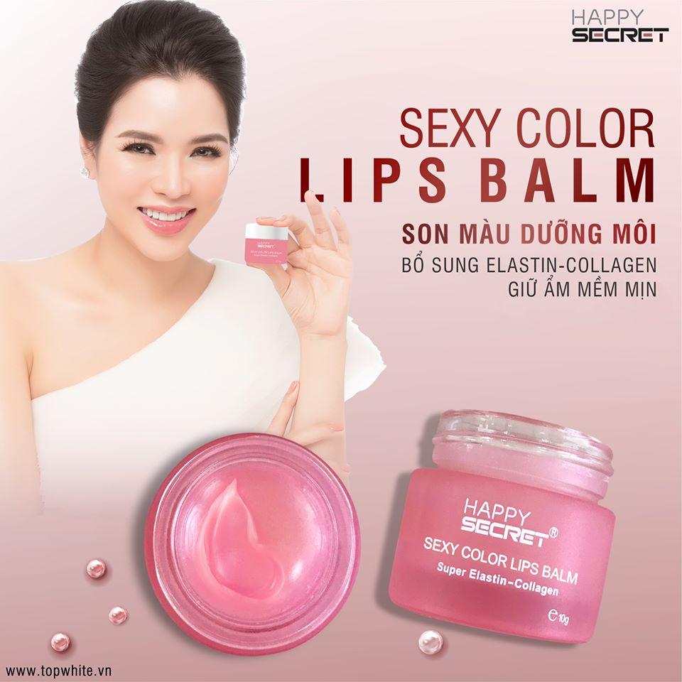 Son màu dưỡng môi Sexy Color Lips Balm