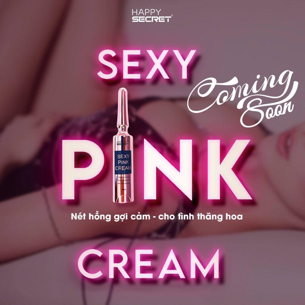 Kem làm hồng nhũ hoa Sexy Pink Cream
